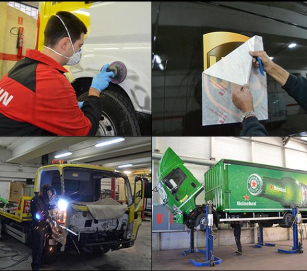 reparaciones de vehículos industriales