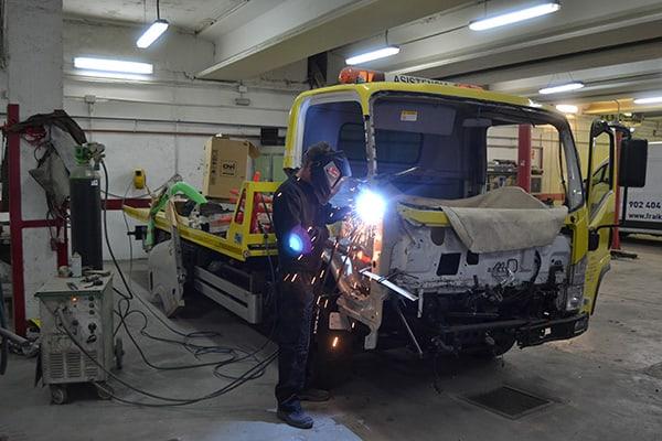 Taller vehículos industriales Alcalá de Henares