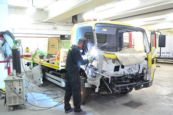 Talleres de camiones en Torrejón de Ardoz