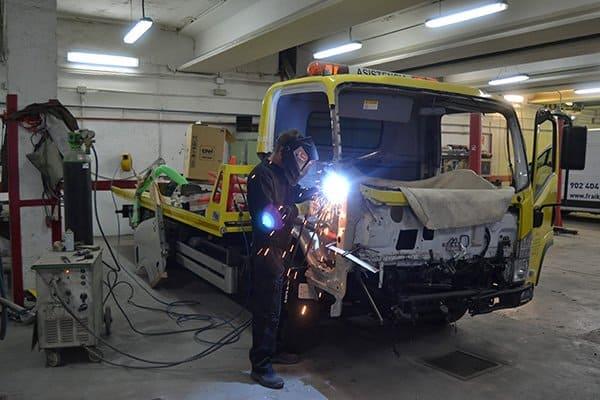 taller vehículos industriales