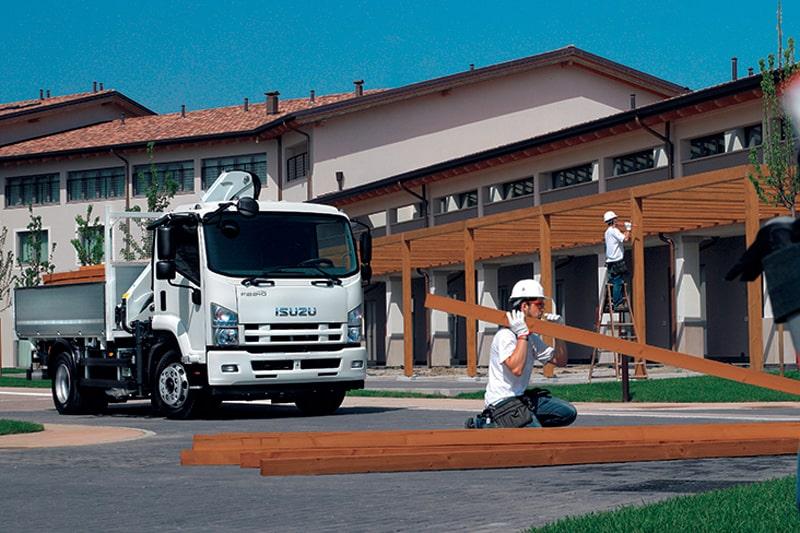 conducción eficiente de camiones