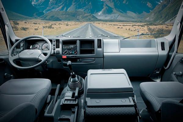 conducir un camión