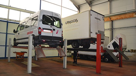 Taller de vehículos industriales Torrejón de Ardoz